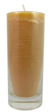 2.5 day jar candle in 5.5-inch x 2.25-inch glass - 100% Pure Beeswax