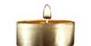 pure 100% beeswax tea light in aluminum container