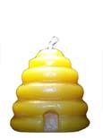 100% beeswax medium beehive candle