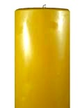 9 inch by 3 inch solid pure beeswax pillar candle