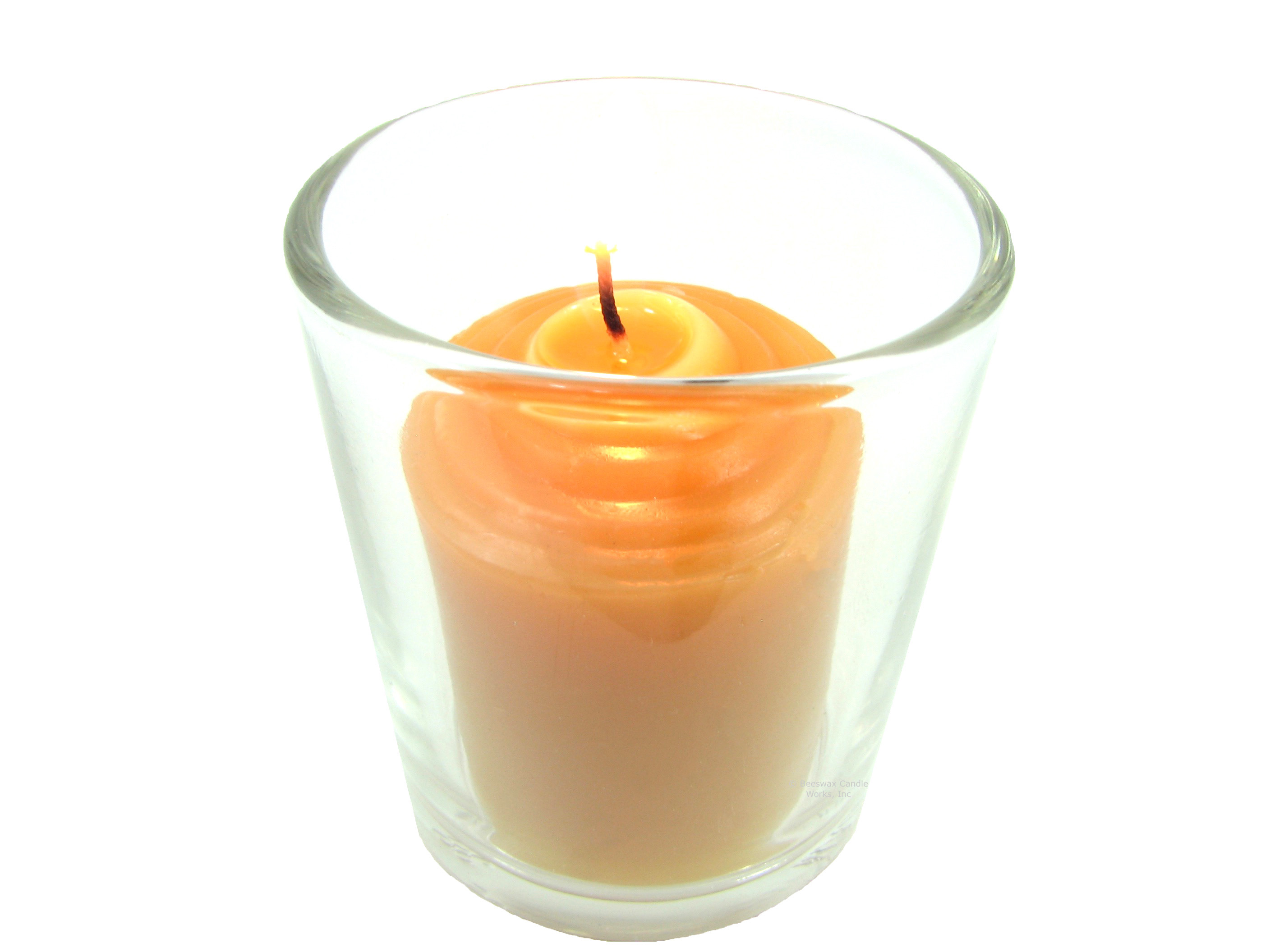 10 hour beeswax votive candle